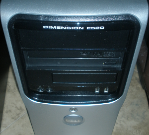 dimension e520 lamp server